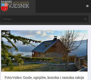 Seoska kuća Vidikovac; Country House Vidikovac; Rama; Ramsko jezero